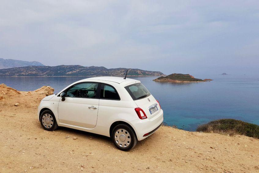 Roadtrip Sardinie met een fiat 500