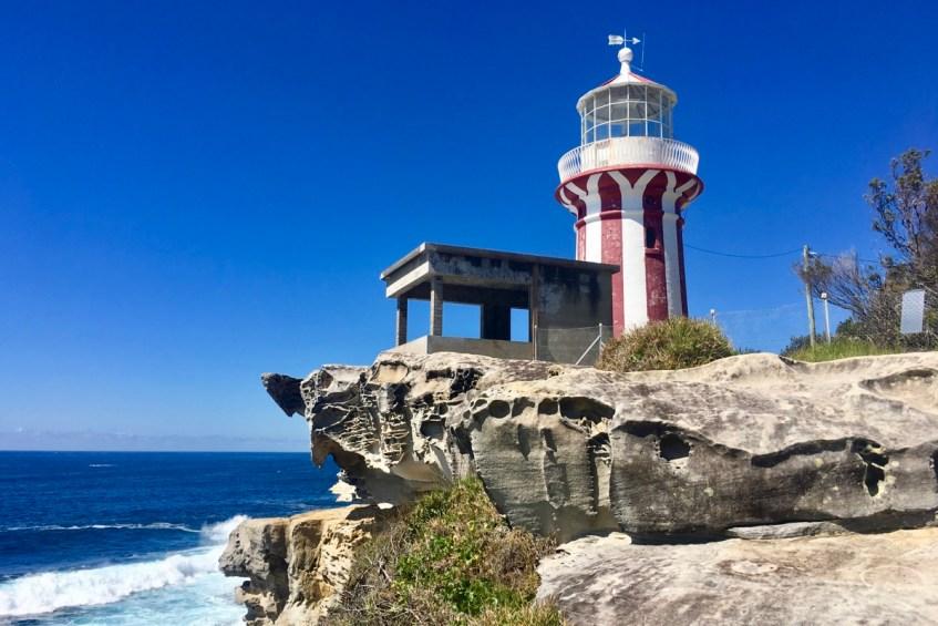 De prachtige lighthouse op South Head in Sydney