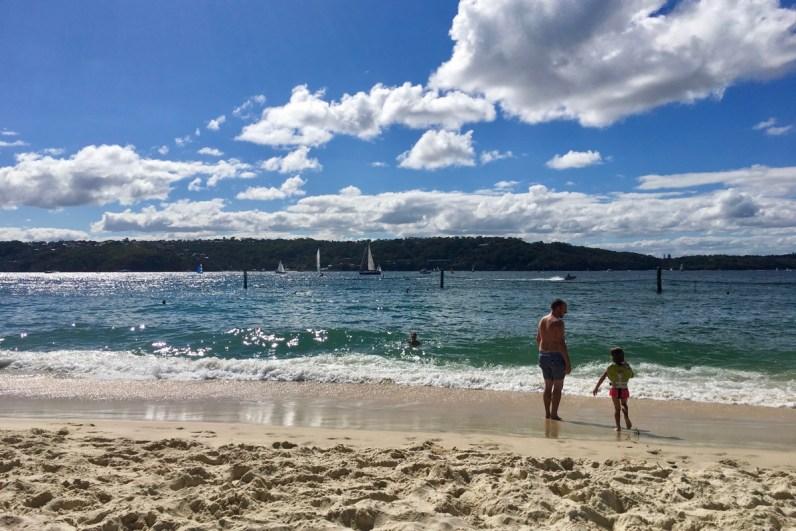 Shark Beach is een fijn strand die je zeker moet zien als je Sydney gaat bezoeken