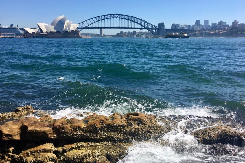 Opera House en Harbour Bridge in Sydney