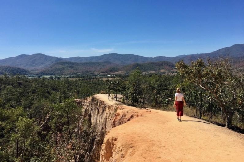 Bezoek ook de Pai Canyon als je een rondreis Thailand maakt