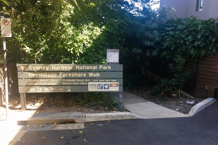 To do in Sydney wandel van Rose Bay naar Watson Bay via de Hermitage Foreshore Walk