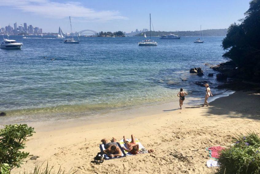 In Sydney ga je lekker wandelen van Rose Bay naar het mooie Watson Bay