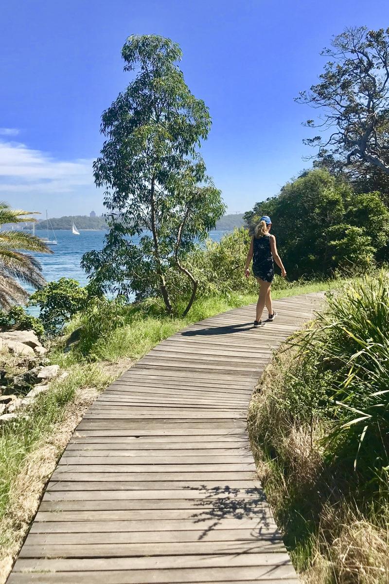 To do in Sydney wandel van Rose Bay via de Hermitage Foreshore Walk naar Watson Bay