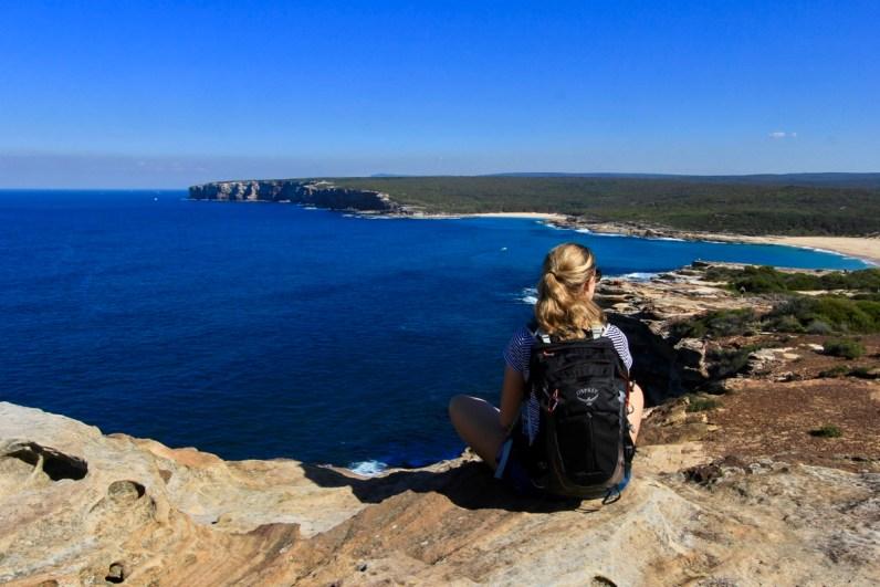 Het uitzicht vanaf Marley Head in het Royal National Park