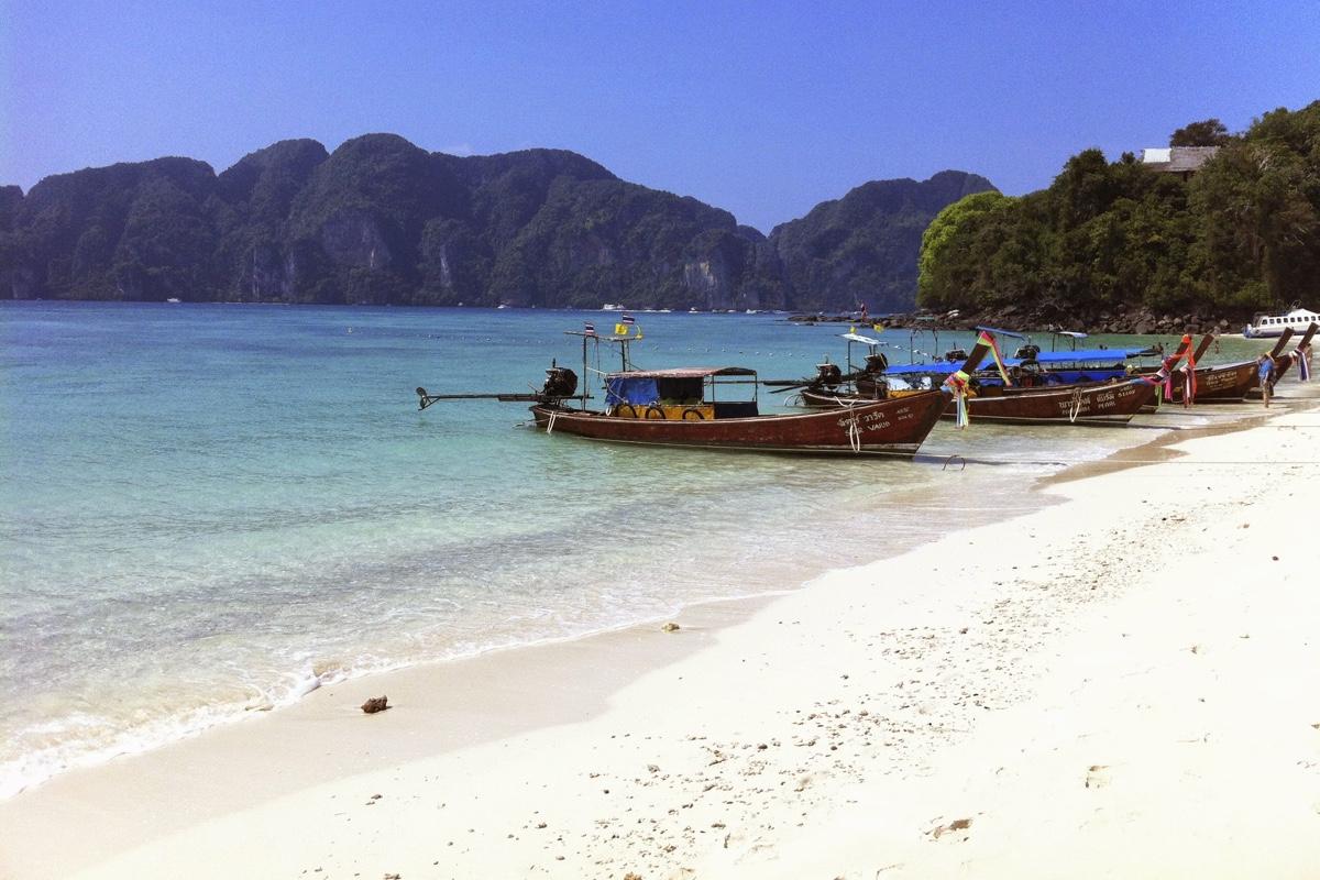 In je Thailand route hoort Koh Phi Phi ook zeker thuis