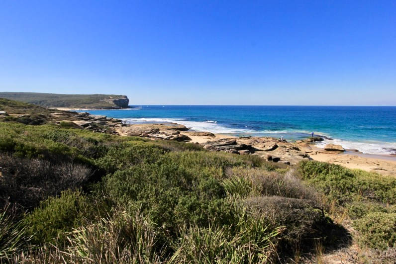 Onderweg naar Little Marley Beach in het Royal National Park