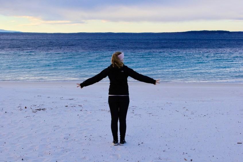 De stranden bij Jervis Bay zijn ontzettend wit