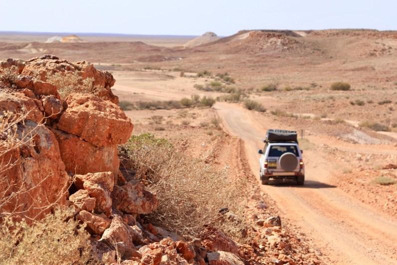 Met een 4x4 door de outback in Australie is een toffe ervaring