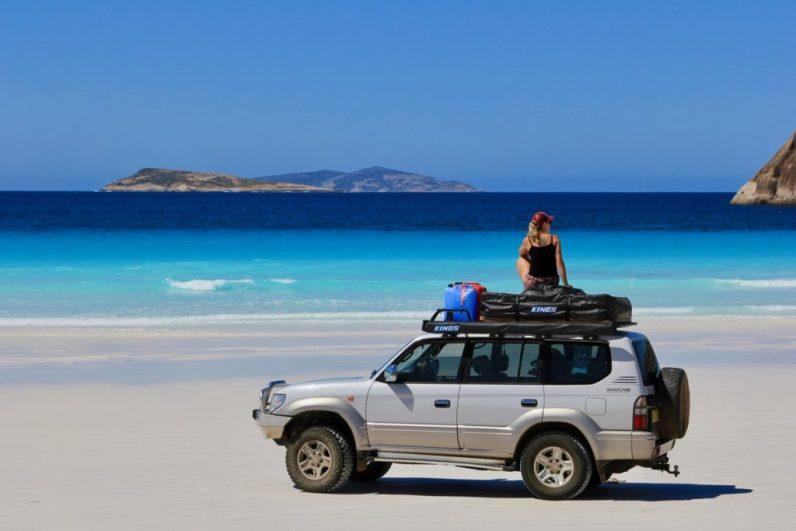 Het mooiste strand ter wereld via je in Cape Le Grand N.P. aan de westkust van Australië