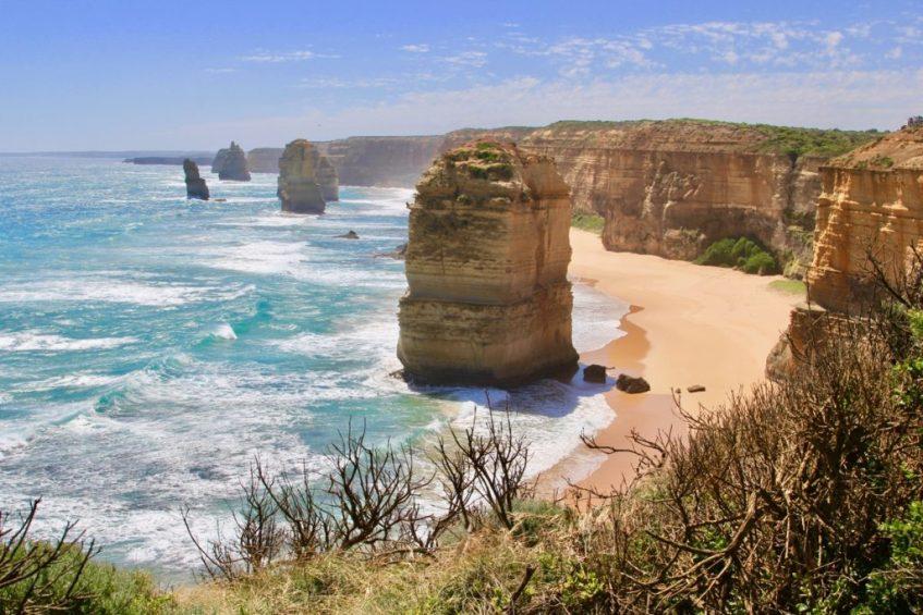 Bezoek de Great Ocean Road als je van Melbourne naar Sydney reist in 24 dagen