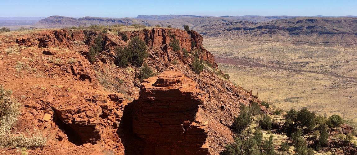 Karijini National Park een must see in West-Australie