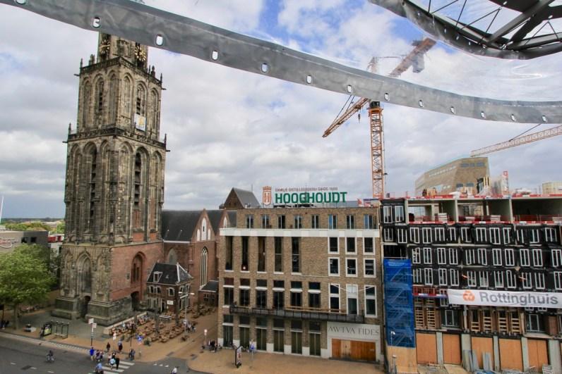 De Martinitoren siert de skyline van Groningen