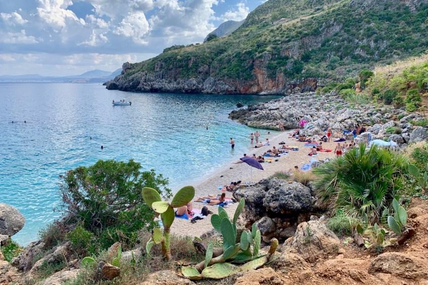 Zingaro National Reserve is een bezienswaardigheid op Sicilie