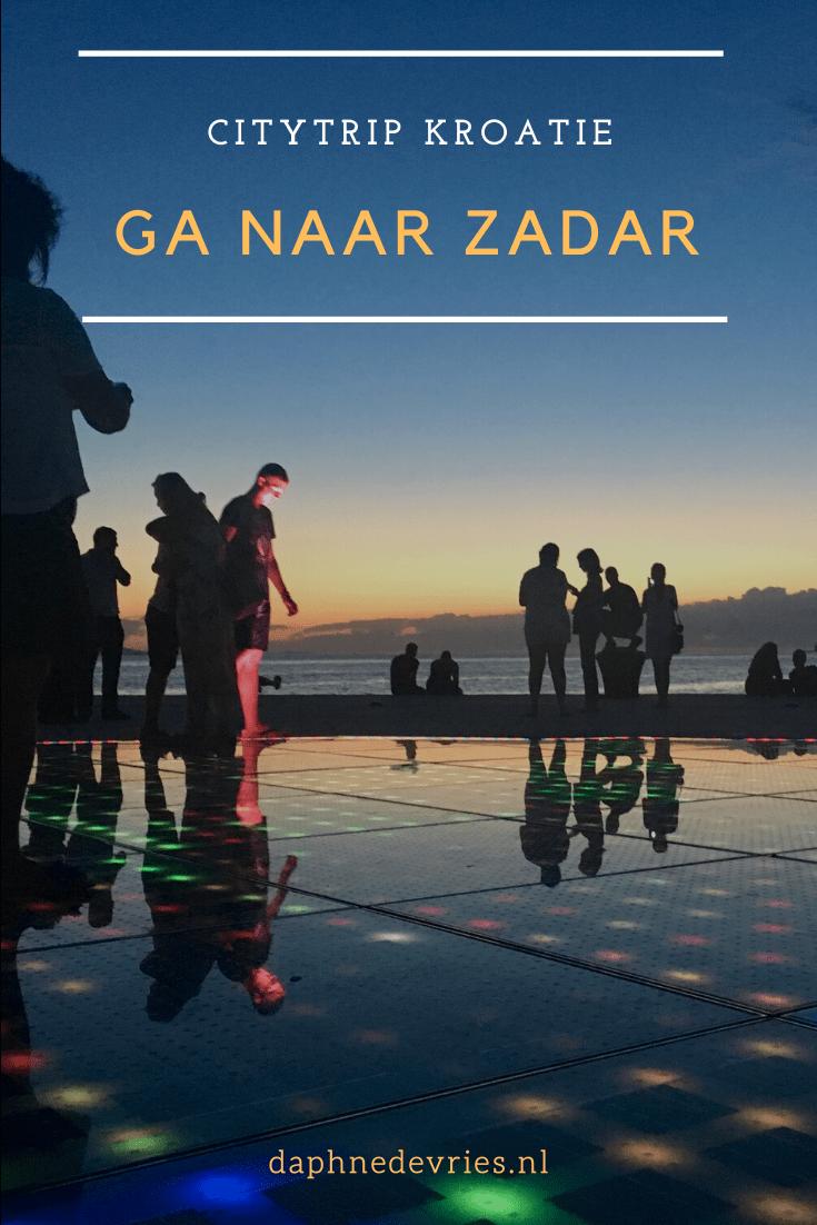 Bezoek Zadar: bezienswaardigheden & tips in Kroatië