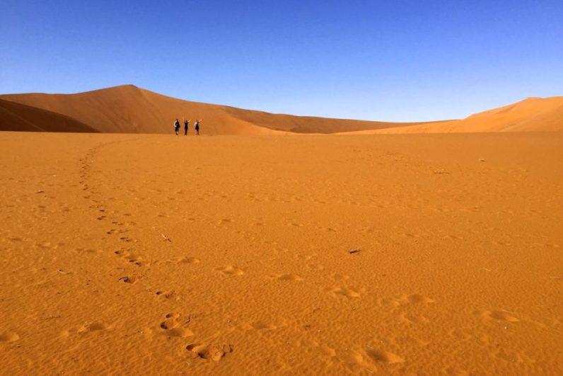 De Sossusvlei in Namibie is een absolute highlight