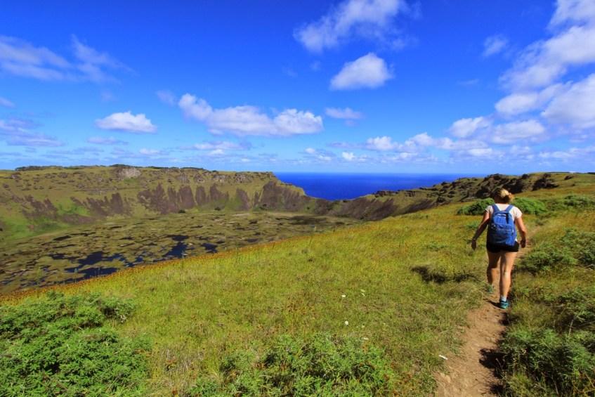 Wil je Paaseiland bezoeken? Ga dan ook naar de Ranu KauVulkaan