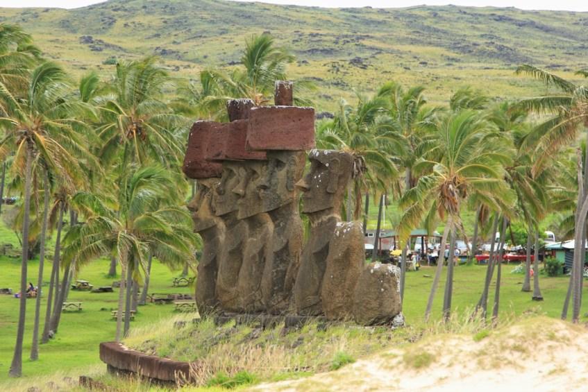 Even strand op Paaseiland? Ga naar Ahu Nau Nau en geniet