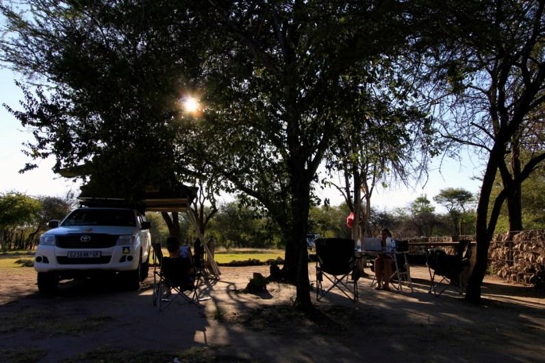 Roy's Rest Camp is ook een leuke camping om te overnachten in Namibie