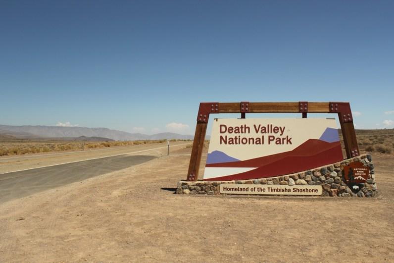 Bezoek Death Valley in West-Amerika