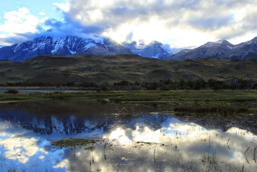 Torres del Paine National Park is een van de hoogtepunten van Patagonië