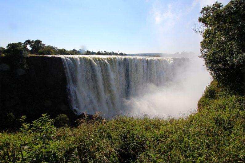 De Victoria Falls is een van de mooiste watervallen ter wereld