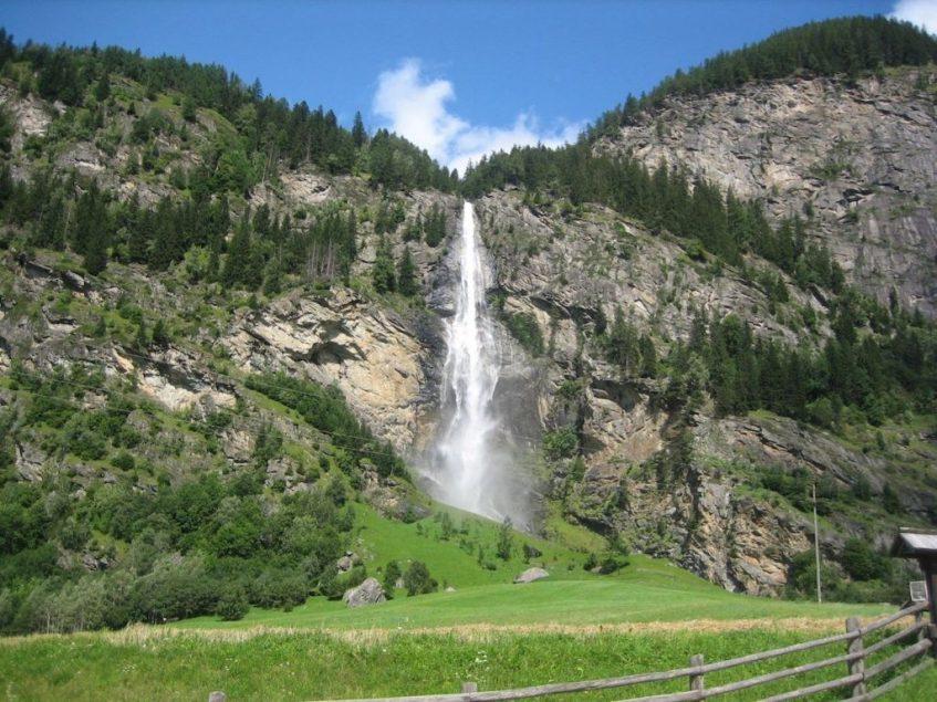 In het Maltatal in Oostenrijk vind je een van de mooiste watervallen ter wereld