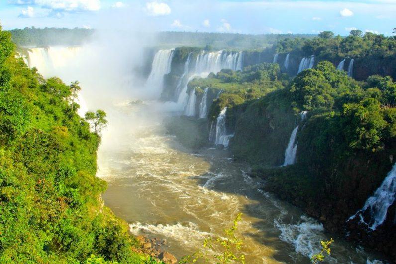 De Iguacu Watervallen behoren zeker tot de mooiste watervallen ter wereld