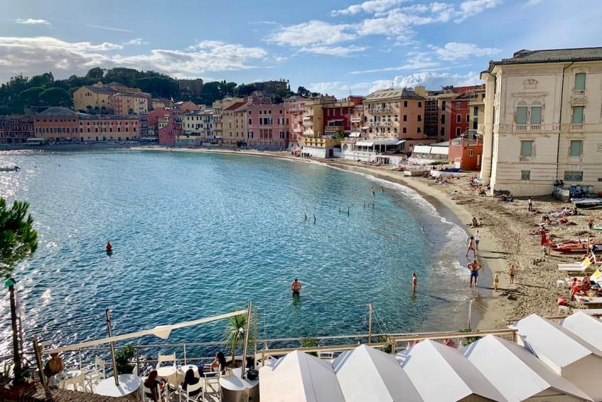 Aan je de bloemenrivièra bezoekt ga dan naar Sesti Levante en geniet van het heerlijke strand