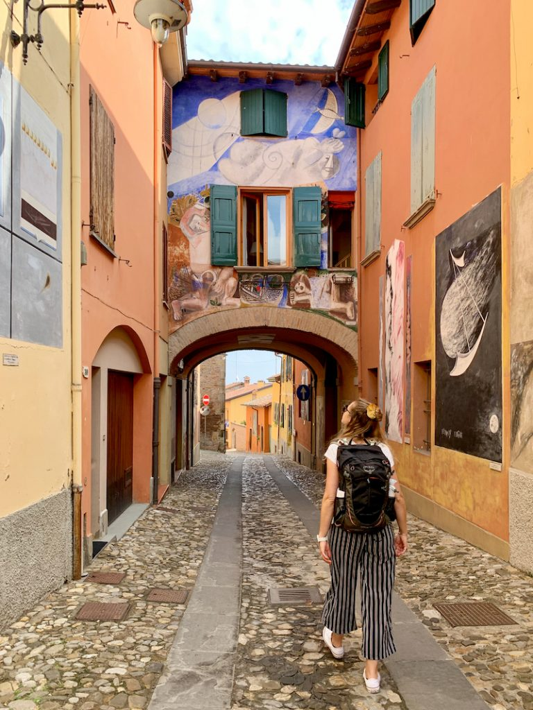 Doen in de omgeving van Bologna? Overweeg zeker om het dorpje Dozza te bezoeken