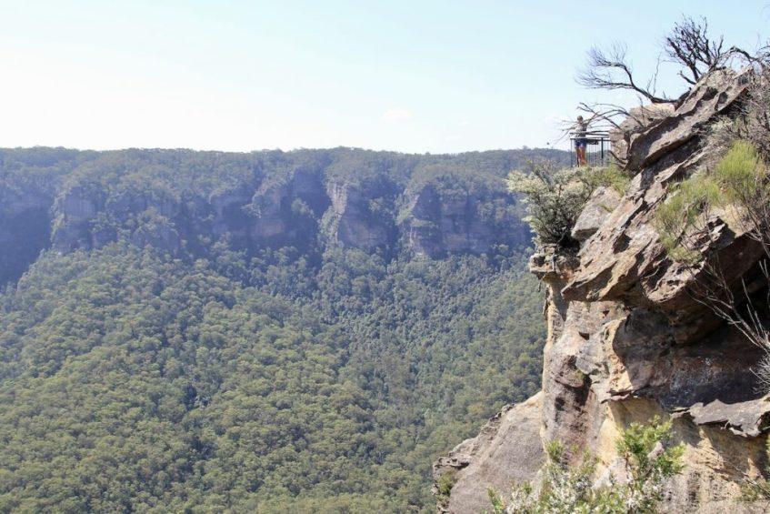 In Blue Mountains National Park heb je vele mooie uitkijkpunten