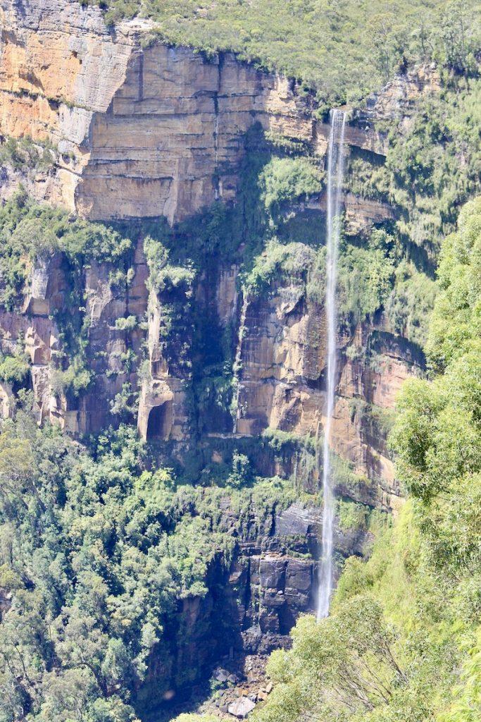 Geniet van mooie uitkijkpunten als deze op Govett Leap en maak mooie wandelingen in Blue Mountains National Park