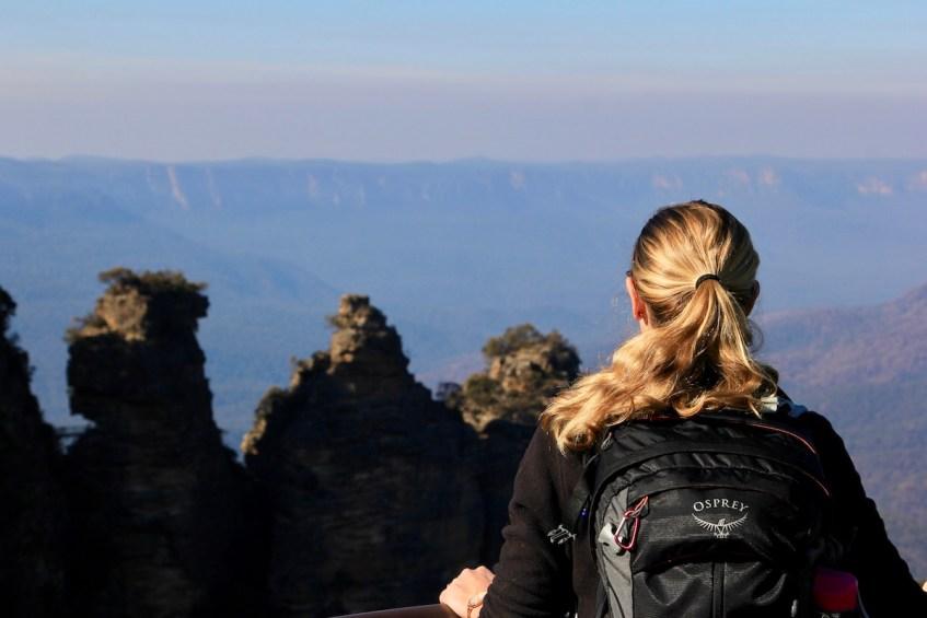 In Blue Mountains National Park heb je vele mooie uitkijkpunten maar de bekendste is Echo Point