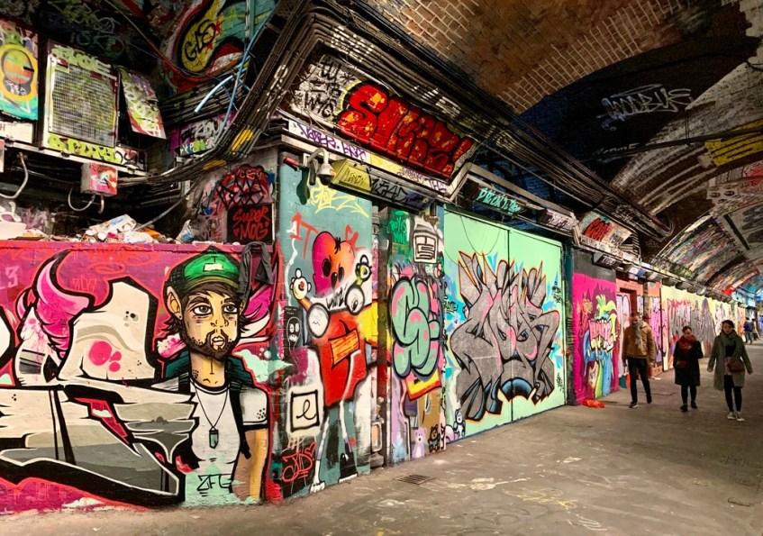 Bezoek Londen en ga street art spotten in de Leake Street Tunnel