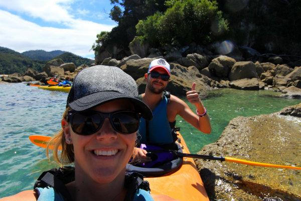 Kayakking @ Abel Tasman NP