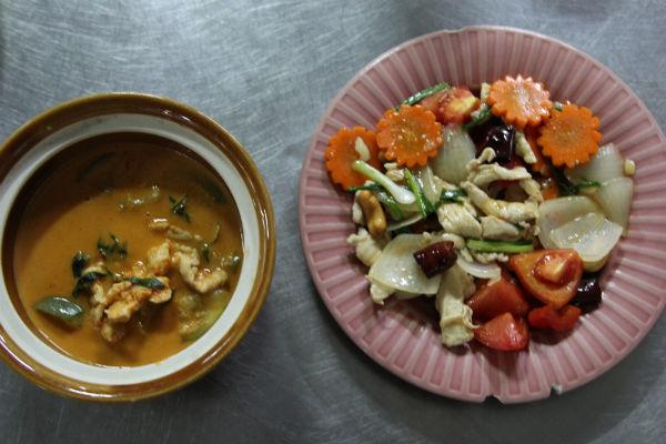 Lekkere Thaise maaltijd