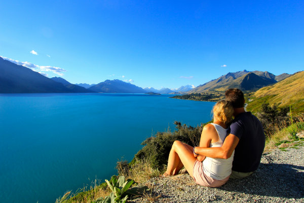 Lake Wakatipu @ Queenstown