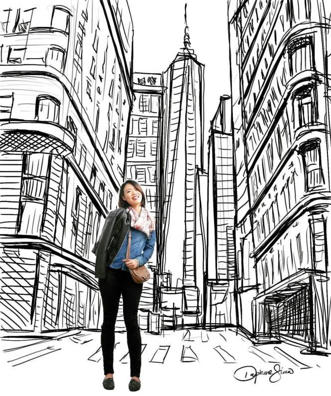new-york-street-sketch