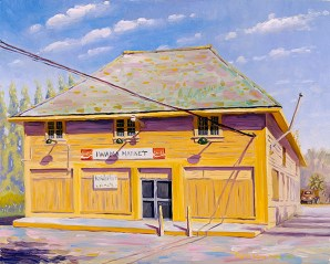"""""""Iwama Market"""" by Daphne Wynne Nixon"""