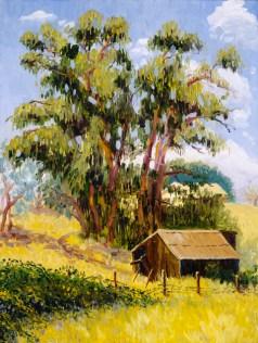 """Old Blacksmith's Barn in Old Cordelia"" by Daphne Wynne Nixon"