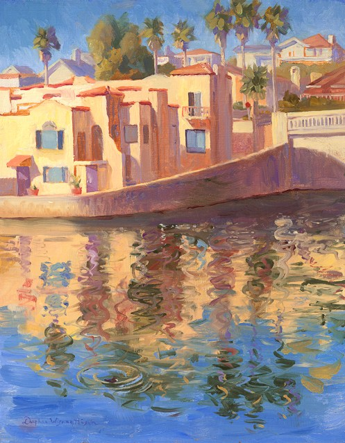 D Wynne Nixon_Capitola Reflections_14x11_oil_Professional catalog