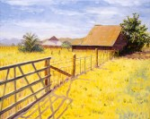 """""""Green Valley Stables in Old Cordelia"""" by Daphne Wynne Nixon"""