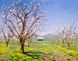 """""""Peach Blossoms Orchard"""" by Daphne Wynne Nixon, 2005"""