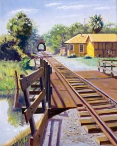 """""""Cordelia Railroad Tunnel 1868"""" by Daphne Wynne Nixon"""