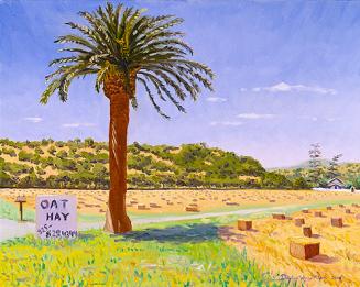 """""""Oat Hay for Sale in Old Cordelia"""" by Daphne Wynne Nixon, 2005"""