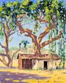 """Old Adobe near Santa Eulalia Mission in Rockville"" by Daphne Wynne Nixon"
