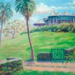"""""""Bromley"""", 16″ x 20″, oil by Daphne Wynne Nixon"""