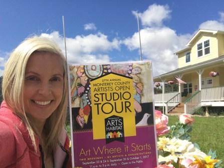 Daphne artists studio tour photo: Monterey