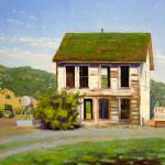 """""""Fresh Vegetables for Sale"""", oil, by Daphne Wynne Nixon"""