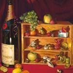 """""""Sweet Memories"""" oil, by Daphne Wynne Nixon"""